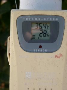 Sonde de température et d'humidité extérieure